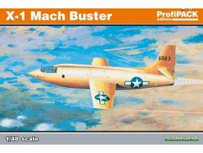 Eduard X-1 Mach Buster 1:48 Profi Pack 8079
