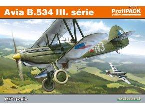 Eduard Avia B.534 III. série 1:72 Profi Pack 70101