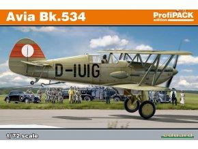 Eduard Avia Bk.534 1:72 Profi Pack 70105
