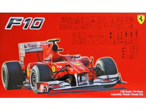 Fujimi Ferrari  F10 Japan GP 1:20 090870