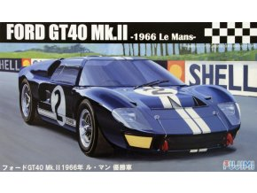 Fujimi FORD GT40 Mk.II Le Mans 1966 1:24 126036