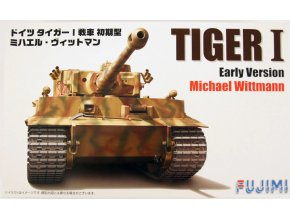 Fujimi Tiger I Early Version Michael Wittmann 1:72 722696