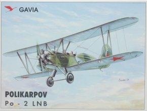 Gavia Polikarpov Po - 2 LNB 1:48 00600