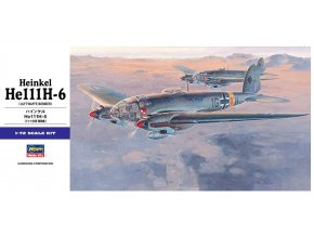 Hasegawa Heinkel He111H-6 Luftwaffe Bomber 1:72 00551