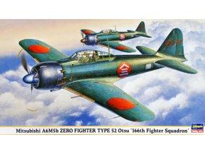 Hasegawa Mitsubishi A6M5b Zero Type 52 Otsu (116th Fighter Squadron) 1:48 09428