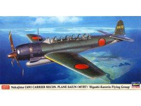 Hasegawa Nakajima C6N1 Carrier Recon Saiun Myrt 1:48 07402
