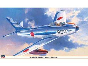 Hasegawa F-86F-40 Sabre Blue Impuls 1:32 08203