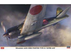 Hasegawa A6M5 Zero Type 52 Super Ace 1:32 08245
