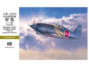 Hasegawa J2M6 Raiden (Jack) Type 21 1:32 04600