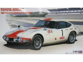 Hasegawa Toyota 2000GT 1967 Fuji 24 Hour Race Winner 1:24 21251