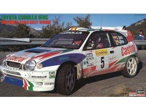Hasegawa Toyota Corolla 1998 MC Rally Winner 1:24 20266