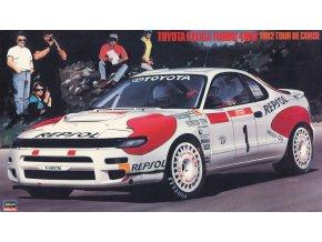 Hasegawa Toyota Celica Turbo 4WD Tour de Corse 1992 1:24 20291