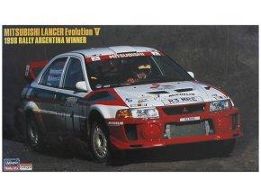 Hasegawa Mitsubishi Lancer Evo 5 Argentina 1998 1:24 25023