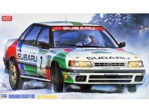 Hasegawa Subaru Legacy RS 1992 Swedish Rally 1:24 20290