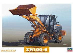 Hasegawa nakladač Hitachi Wheel Loader ZW100-6 1:35 66004