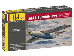 Heller SAAB Tunnan J29 1:72 80260