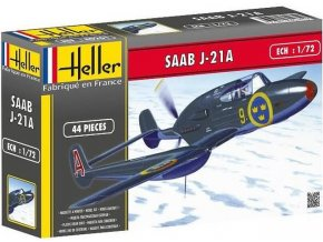 Heller SAAB J 21A 1:72 80261