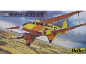 Heller DH 89 DRAGON RAPIDE 1:72 80345