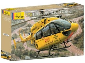Heller Eurocopter EC145 ADAC 1:72 80377