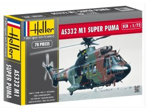 Heller EUROCOPTER SUPER PUMA AS 332 M1 1:72 80367