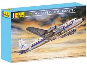 Heller DC-6 SUPER CLOUDMASTER 1:72 80315