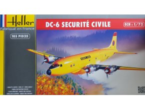 Heller DC-6 SECURITE CIVILE 1:72 80330