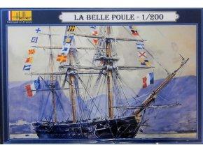 Heller La Belle Poule 1:200 80838