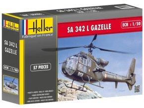 Heller SA 342 L GAZELLE 1:50 80486