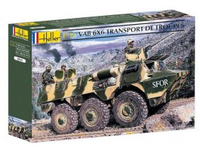 Heller VAB 6x6 Transport 1:35 81141