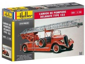 Heller DELAHAYE Type 103 BONNEVILLE 1:24 80780