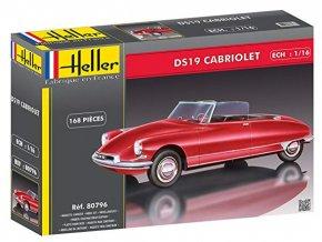 Heller Citroen DS 19 Cabriolet 1:16 80796