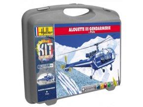 Heller SA 319 Alouette III Model set 1:72 60286