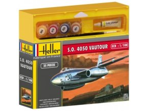 Heller S.O. 4050 VAUTOUR model set 1:100 49030