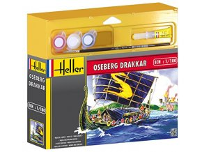 Heller Drakkar Oseberg Model Set 1:180 49056