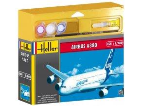 Heller AIRBUS A380 model set 1:800 49075