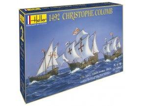 Heller Christophe Colomb Nina, Pinta, Santa Maria 1:75 52910