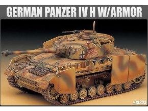 Academy Panzerkampfwagen IV Ausf.H with Armor 1:35 13233