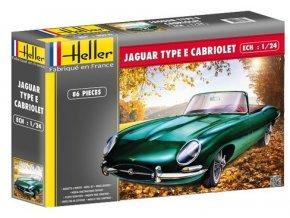 Heller Jaguar Type E3L8 OTS Cabriolet 1:24 80719