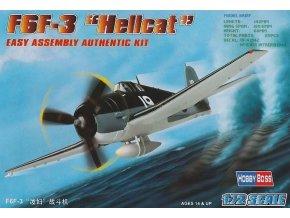 Hobby Boss F6F-3 Hellcat 1:72 80256