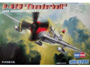 Hobby Boss P-47D Thunderbolt 1:72 80257