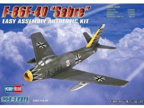 Hobby Boss F-86F-40 Sabre 1:72 80259