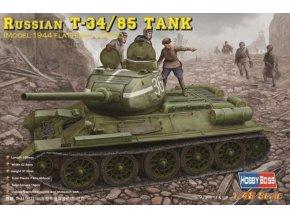 Hobby Boss Russian T-34/85 Tank 1:48 84807