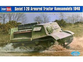 Hobby Boss T-20 Armored Tractor Komsomolets 1:35 83848