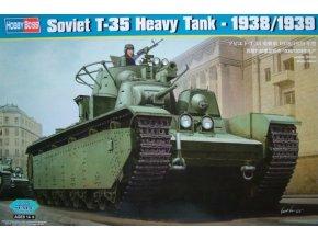 Hobby Boss Soviet T-35 Heavy Tank - 1938-1939 1:35 83843