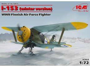 ICM I-153 winter version (Finnish Air Force) 1:72 72075
