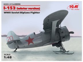 ICM I-153 winter version 1:48 48096