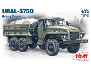 ICM Ural-375D Army Truck 1:72 72711