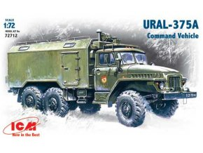 ICM Ural-375A Command Vehicle 1:72 72712
