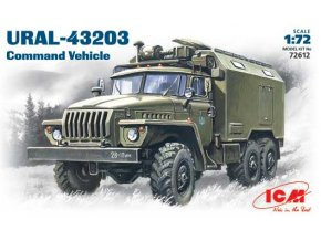 ICM Ural-4320 Command Vehicle 1:72 72612