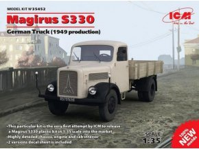 ICM Magirus S330 (1949 production) 1:35 35452